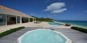 La Vie en Bleu, Baie Rouge Beach, Terres-Basses, St. Martin, French West Indies.