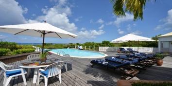 Les Quatre Saisons  villa rental, Baie Longue, Terres-Basses, Saint Martin, Caribbean.