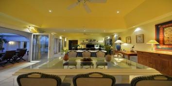 Les Quatre Saisons , Baie Longue, Terres Basses, St. Martin villa rental, French West Indies.
