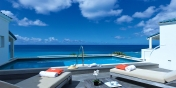 Villa Luna villa rental, Cupecoy Beach, Dutch Low Lands, Sint Maarten, Caribbean.