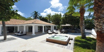 Petite Plage 5, Baie de Grand Case, Grand Case, St. Martin villa rental, French West Indies.
