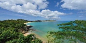 Pointe des Fleurs, Baie aux Cayes, Terres-Basses, St. Martin villa rental, French West Indies.