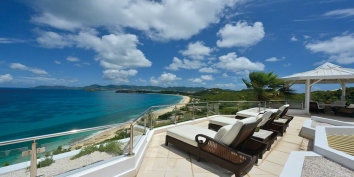 Marine Terrace, Baie Rouge, Terres Basses, St. Martin villa rental, French West Indies.