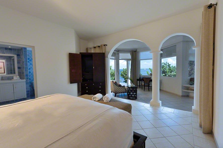 Marine Terrace villa rental, Baie Rouge, Terres Basses, Saint Martin, Caribbean.