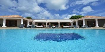 Mirabelle villa rental, Anse au Cajoux, Terres-Basses, Saint Martin, Caribbean.