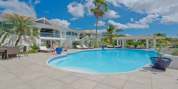 Pamplemousse, Baie Longue, Terres Basses, St. Martin villa rental, French West Indies.