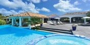 Bleu Passion, Plum Bay, Terres Basses, St. Martin villa rental, French West Indies.