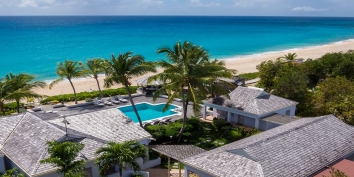 Eden, superbly located on Long Bay Beach, Terres-Basses, Saint Martin, Caribbean.