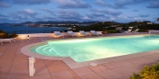 Give your body a treat by the heated pool and enjoy the fantastic views at night at this Saint Martin villa rental.