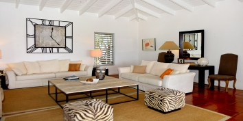 Villa Beaulieu, Long Bay Beach, Terres Basses, St. Martin villa rental, French West Indies is tastefully designed throughout.