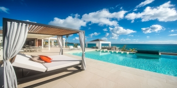 Turtle Nest, Baie Longue, Terres Basses, St. Martin villa rental, French West Indies.