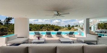 Grand Palms villa rental, Plum Bay Beach, Terres-Basses, Saint Martin, Caribbean.