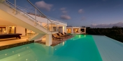 Grand Palms, Plum Bay Beach, Terres Basses, St. Martin villa rental, French West Indies.