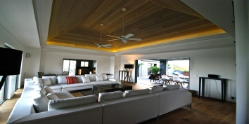 Modern, contemporary and luxurious Lagon Vert, Petit Cul de Sac, St. Barts luxury holiday villas.