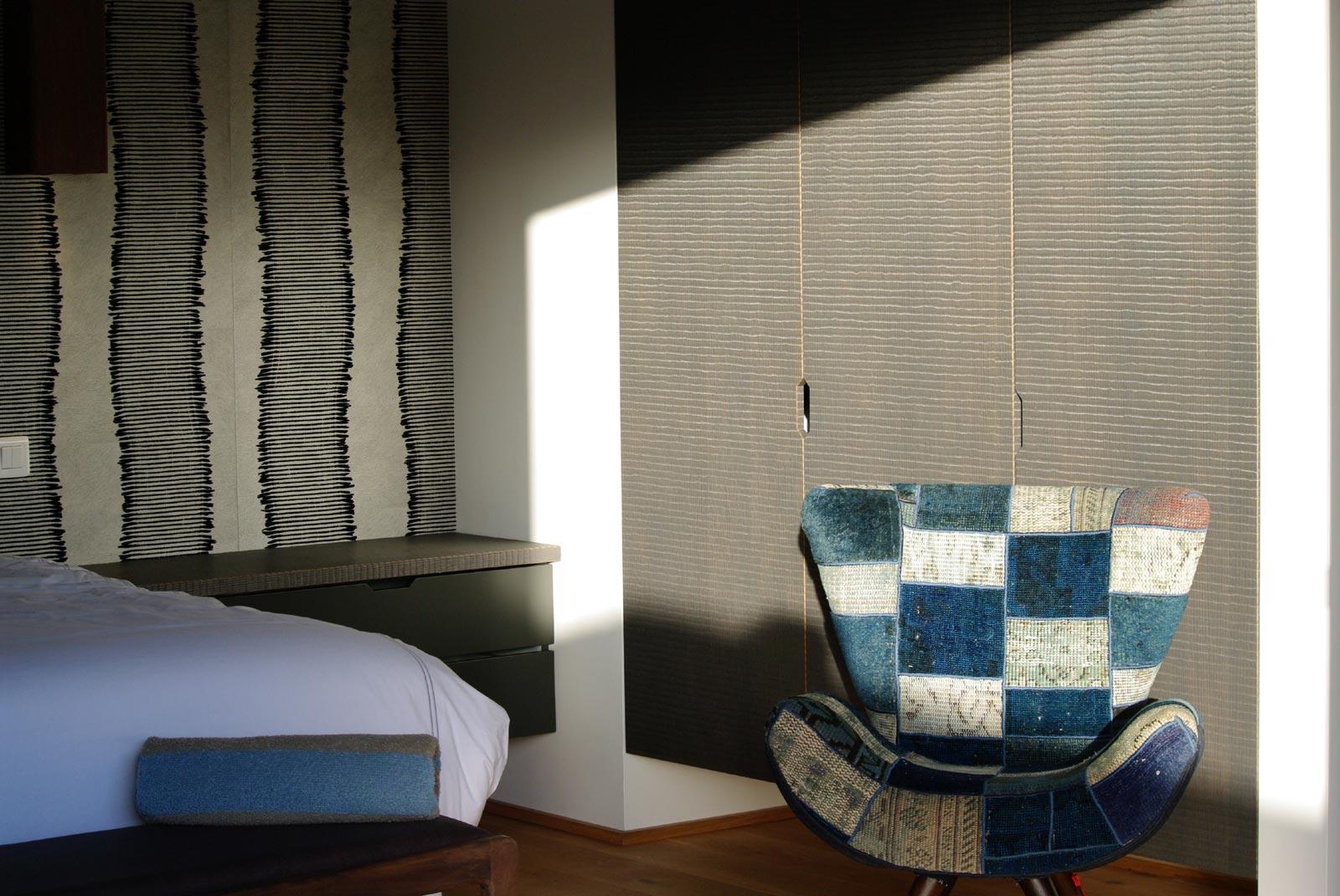 Contemporary interir design at Green Lagoon, St. Barths luxury villa rentals.