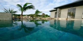 A new, beautiful, spacious, contemporary villa with 3 bedrooms, two separate swimming pools and stunning Caribbean views!