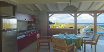 Baby Blue villa completes the Blue Lagoon Estate, Petit Cul de Sac, St. Barts luxury villa rentals, Caribbean.
