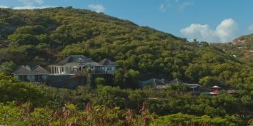 Lagon Jaune, Petit Cul de Sac, St. Barts luxury vacation villa rentals, Caribbean.