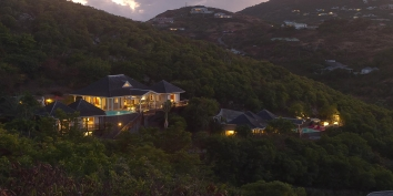 Villa Yellow Lagoon, Petit Cul de Sac, St. Barts luxury vacation villa rentals, French West Indies.