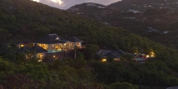 Villa Yellow Lagoon, Petit Cul de Sac, St. Barts luxury vacation villa rentals, French West Indies.