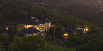 Villa Yellow Lagoon, Levant Estate, Petit Cul de Sac, St. Barths luxury holiday villas.