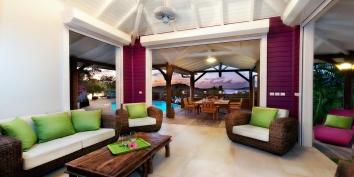 Villa Small Lagoon, Levant Estate, Petit Cul de Sac, St. Barts.