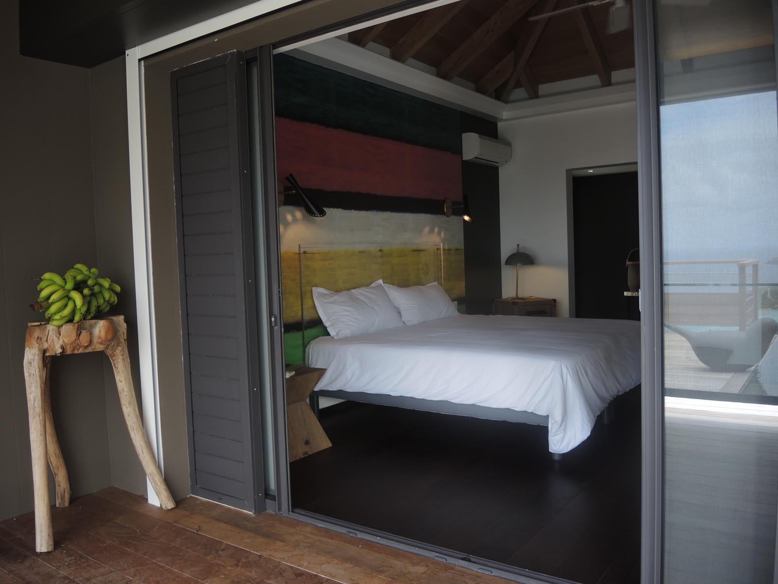 This Caribbean luxury holiday villa has three spacious bedrooms with private bathrooms.