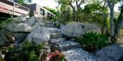 Villa de Moh, St. Barts, has beautifully landscaped tropical gardens.