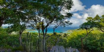 Villa de Moh has a stunning view of Saint-Jean Bay, St. Barths.