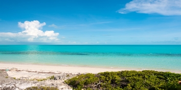Great ocean views at Villa Isla, Long Bay Beach, Providenciales (Provo), Turks and Caicos Islands