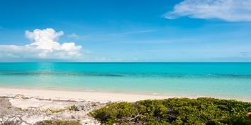 Great ocean views at Villa Isla, Long Bay Beach, Providenciales (Provo), Turks and Caicos Islands