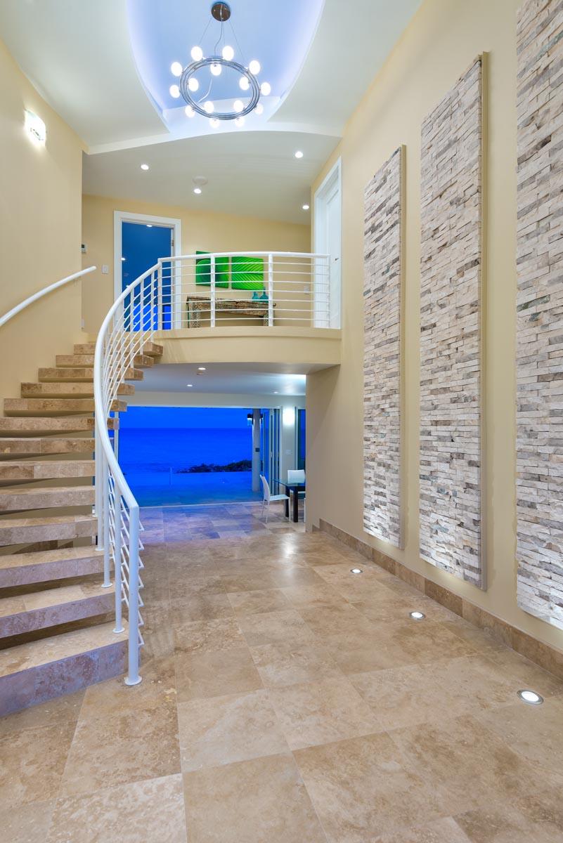 A luxury Turks and Caicos villa on beautiful Long Bay Beach