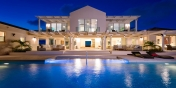 Absolutely stunning by night, Villa Isla, Long Bay Beach, Providenciales (Provo), Turks and Caicos Islands