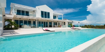 Villa Isla is a perfectly planned vacation villa rental in the Turks and Caicos Islands