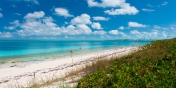 Grace Bay Beach is a 12 mile stretch of soft, white sand and regularly voted one of the best beaches in the world.