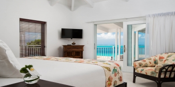 This Turks and Caicos vacation villa rental has 4 bedrooms with private bathrooms.