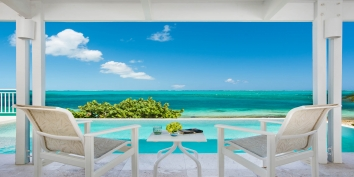 Enjoy stunning views while on vacation at Beach Villa Sandstone, Providenciales (Provo), Turks and Caicos Islands.