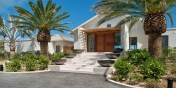 This Turks and Caicos luxury villa rental is modern, stylish and contemporary.