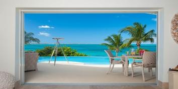 Turtle Beach Villa, Grace Bay Beach, Providenciales (Provo), Turks and Caicos Islands is a beautiful villa in a very unique location.