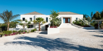 Villa Aguaribay is located on Long Bay Beach in an area with many of the finest villas on Providenciales, Turks and Caicos Islands.