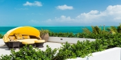 Relax on the beautiful sun deck with a good book and soak up the Carribean atmosphere of this Turks and Caicos villa rental.