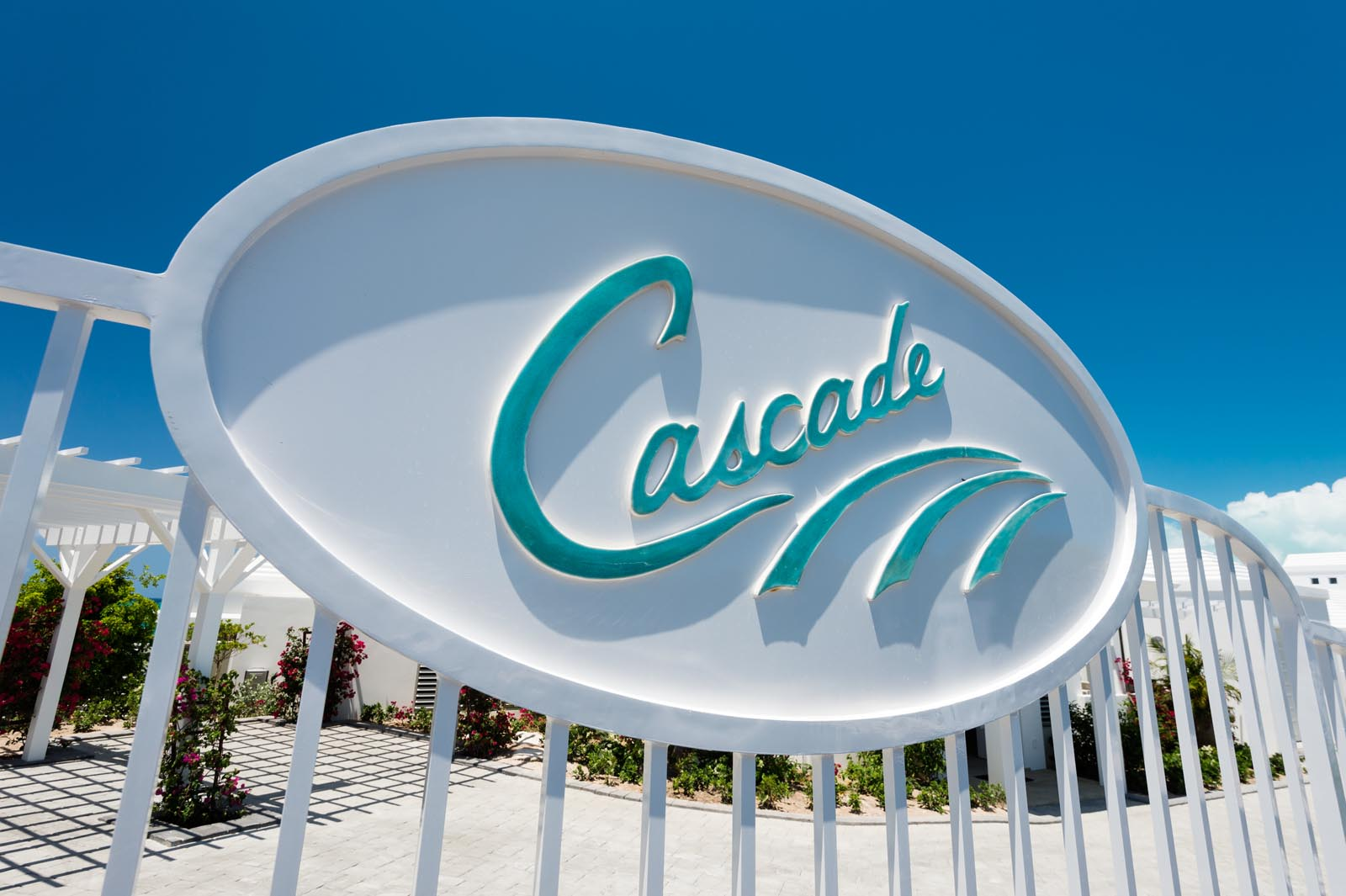 Villa Cascade, Babalua Beach, Providenciales (Provo) in the beautiful by nature Turks and Caicos Islands