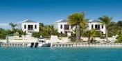 A tropical trio of contemporary design The Villas at Grace Bay, Providenciales, Turks and Caicos Islands.