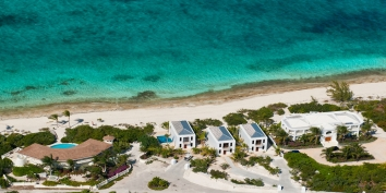 Water Edge Villa is part of a trio of beautifully designed one bedroom villas on world-famous Grace Bay Beach on Providenciales in the Turks and Caicos Islands.
