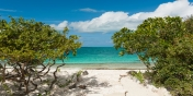 World-famous Grace Bay Beach is just a few steps from Water Edge Villa, Grace Bay Beach, Providenciales (Provo), Turks and Caicos Islands.