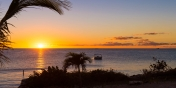 Enjoy magnificent sunsets over Sapodilla Bay from Miami Vice Two,  Providenciales (Provo), Turks and Caicos Islands.
