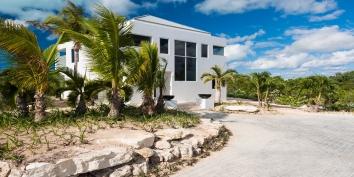 Contemporary architecture and stylish interiors combine at Miami Vice Two, Sapodilla Bay, Providenciales (Provo), Turks and Caicos Islands.