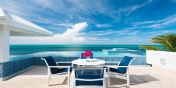 This Turks and Caicos holiday villa rental has a freshwater swimming pool and stunning views of Grace Bay.