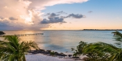 Enjoy stunning sunsets at Villa Positano, Sapodilla Bay Beach, Providenciales (Provo), Turks and Caicos Islands.