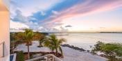 Beautiful views of the ocean from Villa Positano, Sapodilla Bay Beach, Providenciales (Provo), Turks and Caicos Islands.